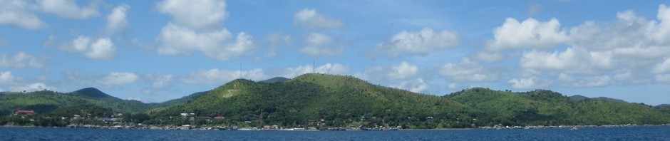Culion from the sea, 2008