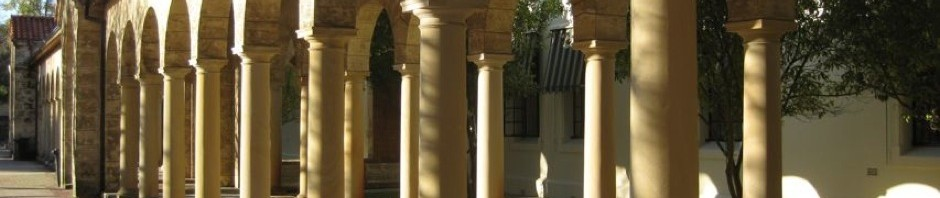 Colonnade at the University of Western Australia in Perth, 2008